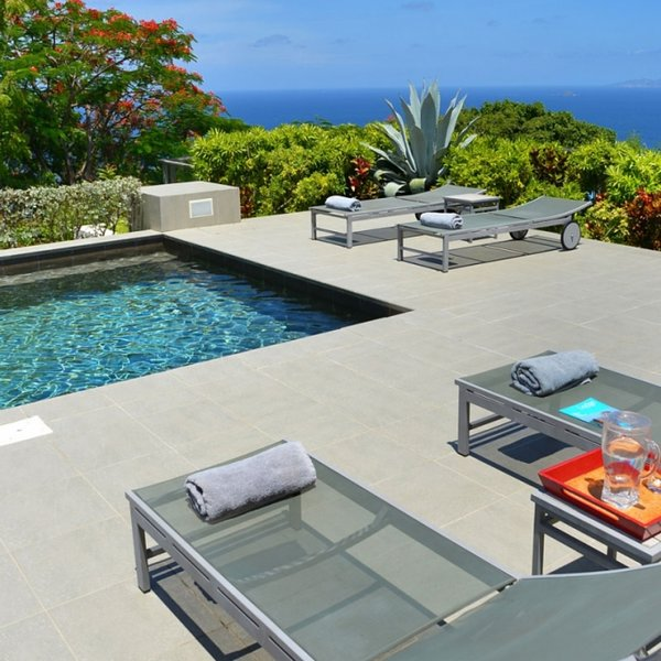 Villa Belle Bague | Ocean View - Located in Fabulous Colombier with Private Po, alquiler vacacional en Anse des Flamands