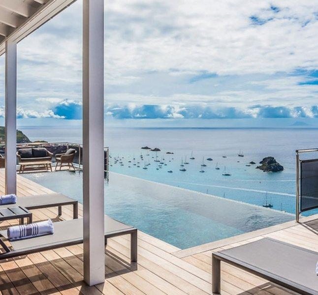 Villa Belharra | Ocean View - Located in Tropical Colombier with Private Pool, location de vacances à Anse des Flamands