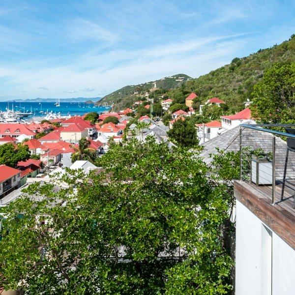 Casa Roc | Ocean View - Located in Stunning Gustavia with Private Pool, vacation rental in Gustavia