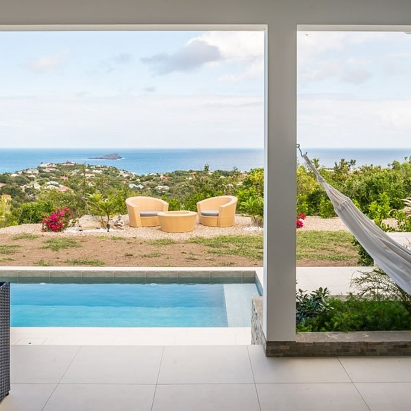 Villa Enjoy | Ocean View - Located in Tropical Vitet with Private Pool, holiday rental in Grand Cul-de-Sac