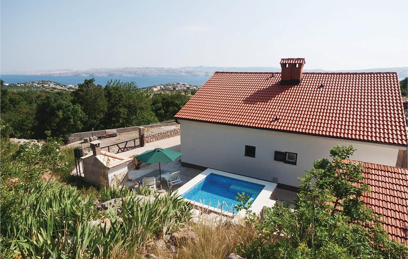 Awesome home in Cesarica with 1 Bedrooms (CKV384), holiday rental in Prizna