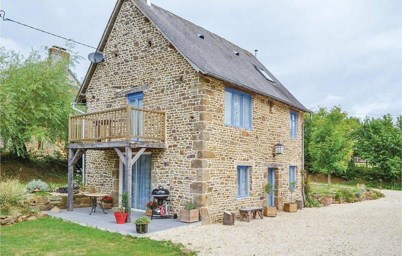 Nice home in Cauesmes Vaucé with WiFi and 0 Bedrooms (FVA029), location de vacances à Saint-Fraimbault
