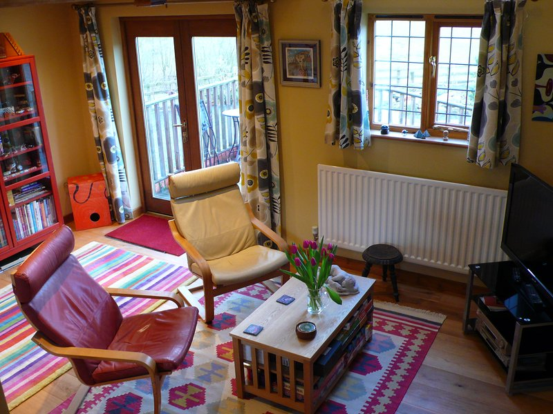 Cefn Y Vastre 17th century barn, vacation rental in Kerry