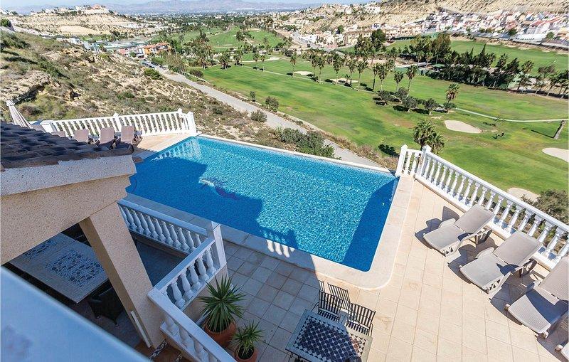 Droomvilla met uitzicht op de golfbaan Marquesa (EBL372), holiday rental in Daya Vieja