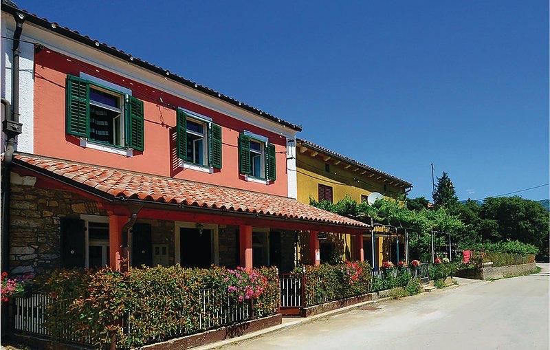 Beautiful home in Krsan with 3 Bedrooms (CIK675), holiday rental in Basko Polje