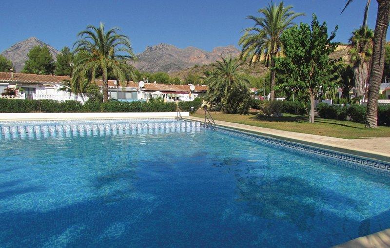 Amazing home in La Nucia with 2 Bedrooms (EBL874), holiday rental in La Nucia