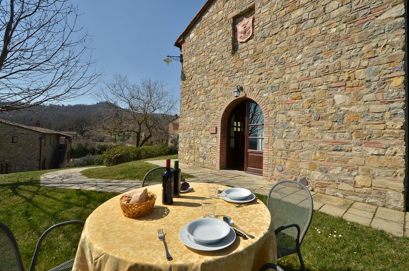 Casa del Tasso - Poggio Cennina Country Resort, Ferienwohnung in Bucine