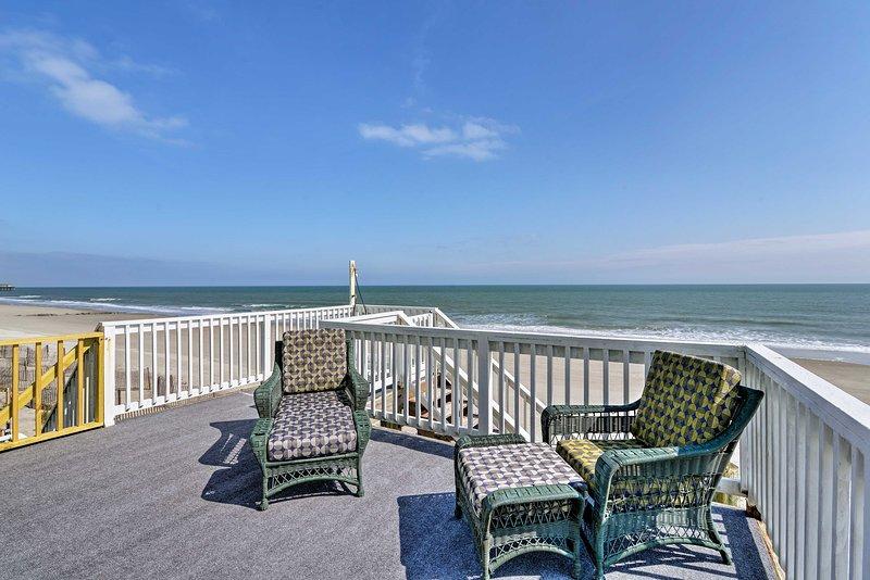 Un pittoresco rifugio sull'oceano vi aspetta in questa fantastica casa per le vacanze!