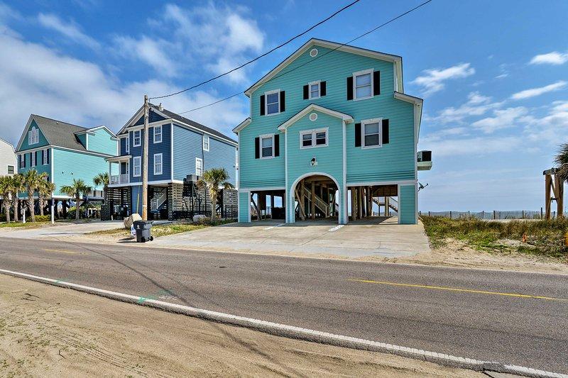 Per una vacanza indimenticabile in spiaggia, prenota questa proprietà ideale!