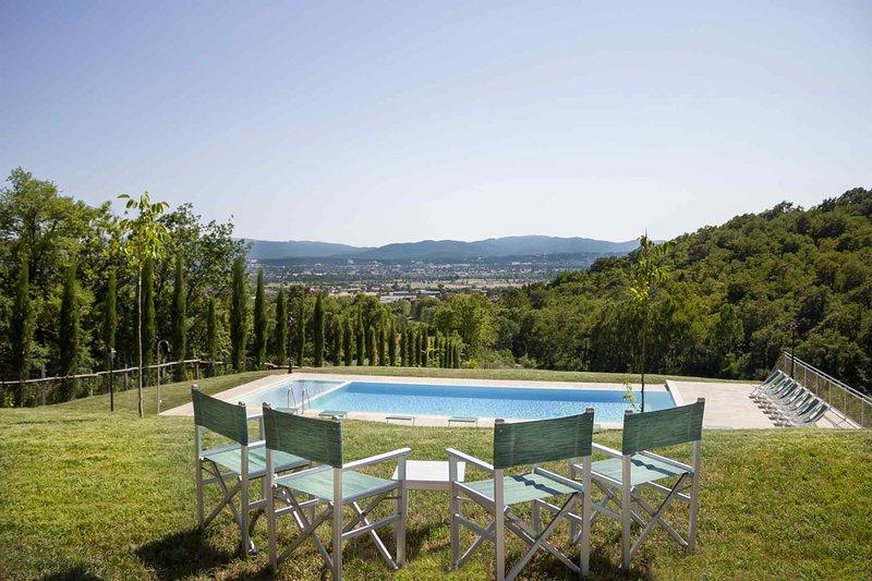 New Villa Private Spa, Pool, Wi Fi, location de vacances à San Giustino