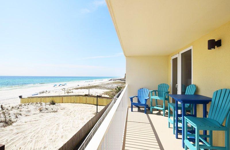 Vista desde el balcón - Sea Dunes Resort Unit 202 Fort Walton Beach, Alquiler de vacaciones en Okaloosa Island