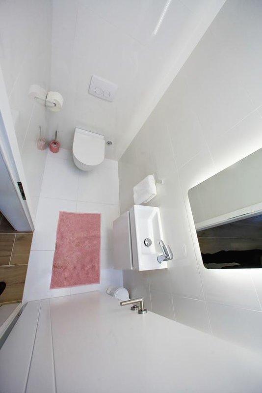 WC 2, Superficie: 3 m²
