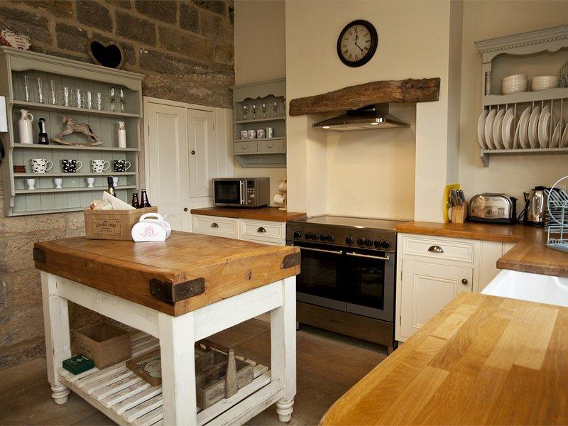 Cocina campestre de Egton