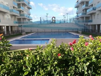 Modern luxury apartment located at the beach of las piles Valencia, holiday rental in Piles