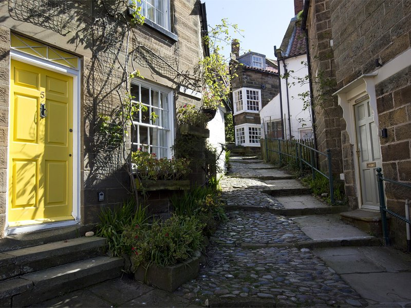 Dating back to 1668 make your way up to the steps cottage