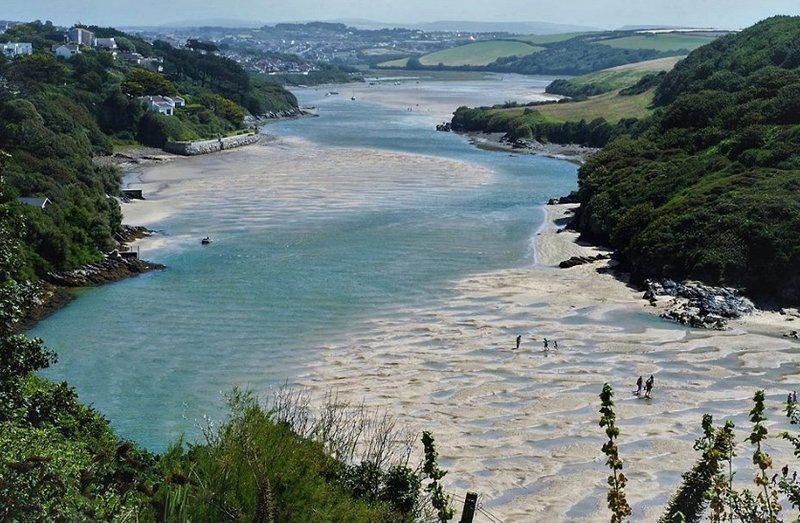 River Gannel  in Newquay
