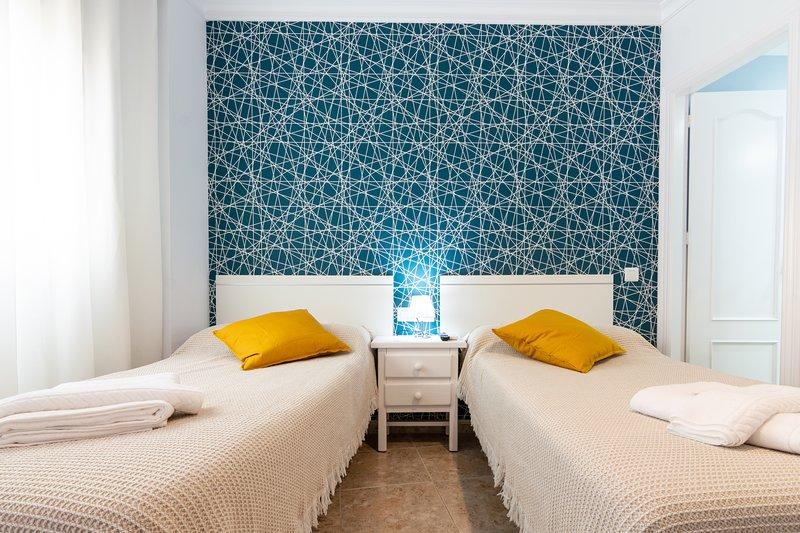 Habitación camas de 90cm con baño privado