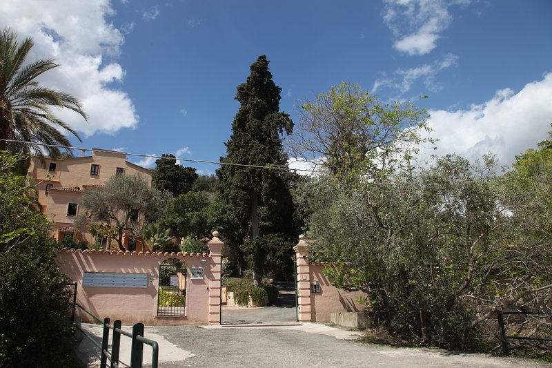 Entrance to the Residence