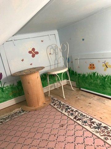 Kinderen spelen Cubby Room