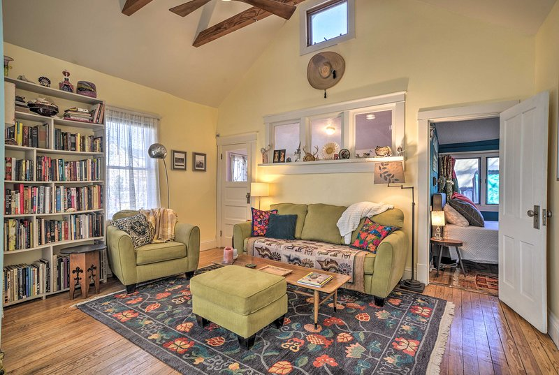 Pure charm radiates throughout this vacation rental home!
