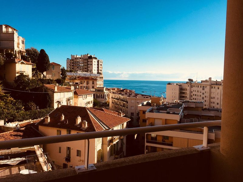 Studio with the Sea View, holiday rental in Monaco