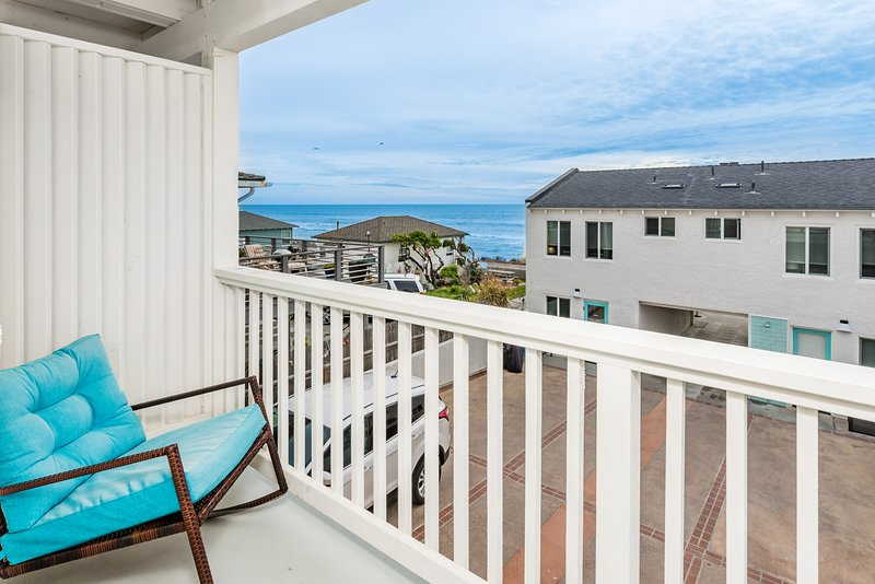 Private Ocean View Balcony