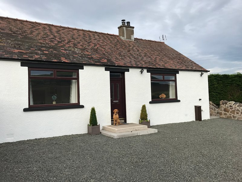 East Cottage, Parbroath Farm near Cupar in Fife, casa vacanza a Luthrie