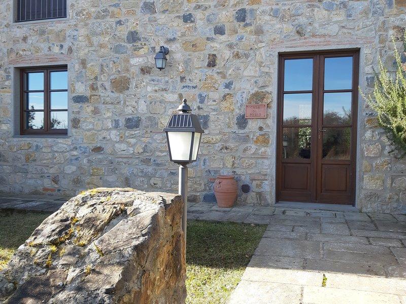 Casa del Merlo - Poggio Cennina Country Resort, Ferienwohnung in Bucine