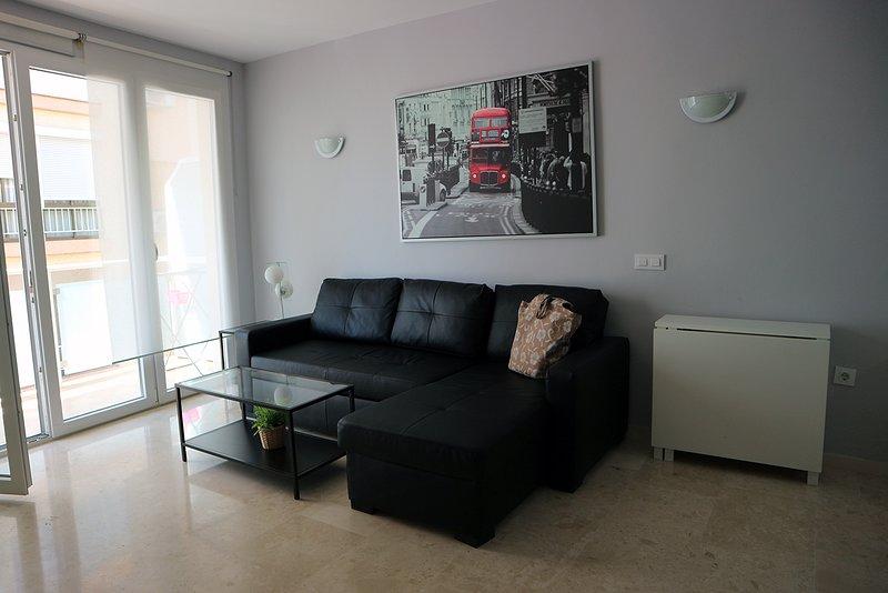 Apartamentos un dormitorio con terraza y sofa cama, alquiler de vacaciones en Fuengirola