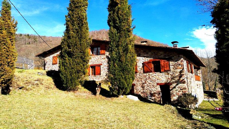 Casa Rural Torrent Vell de Rocabruna, Camprodon, location de vacances à Beget