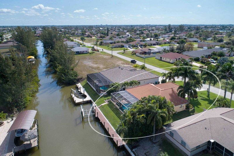 Arial of Canal