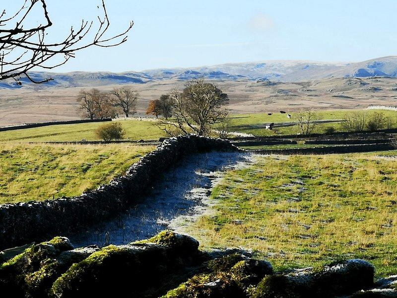 Vista sulla campagna dal cottage