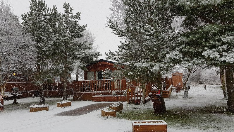 Cherrywood Lodge With Hot Tub, holiday rental in Stanton