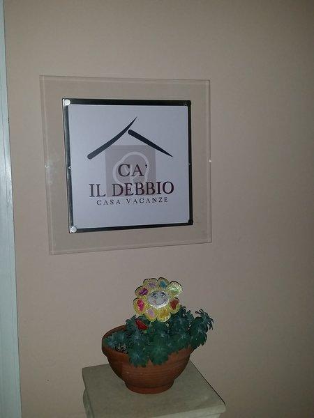 Casa il Debbio , villa immersa nel verde a due passi dalle 5Terre, vacation rental in Ricco del Golfo di Spezia