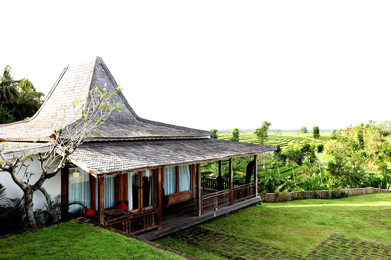 1 BR - Luxury private villa with panoramic views, holiday rental in Tabanan