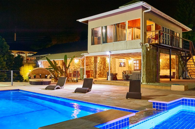 Surfers Paradise Villa. Beach Front, Mt. Irvine, Tobago, holiday rental in Mount Irvine