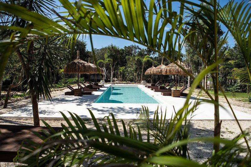 Tulum Wayak Jungle Villas, location de vacances à Chemuyil