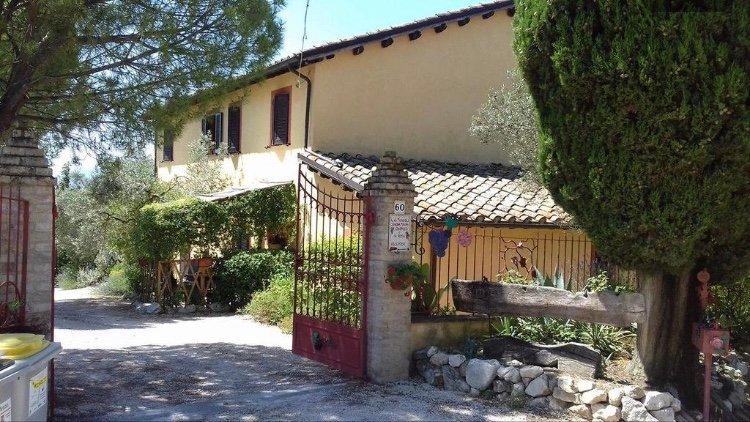 Agriturismo Il grappolo e La Rosa Merlot, Ferienwohnung in Macciano