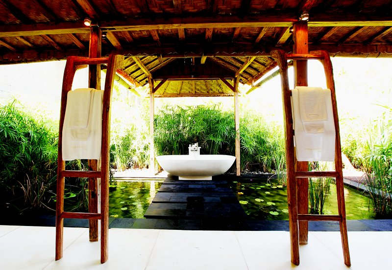 2 BR -  Luxury private villa with panoramic views, holiday rental in Tabanan