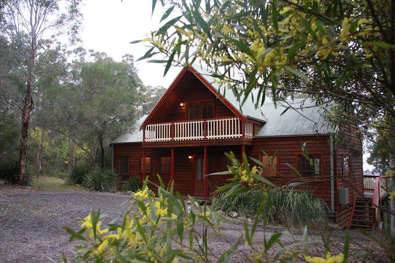 Wallaroo Spa Lodge, holiday rental in Fosterton