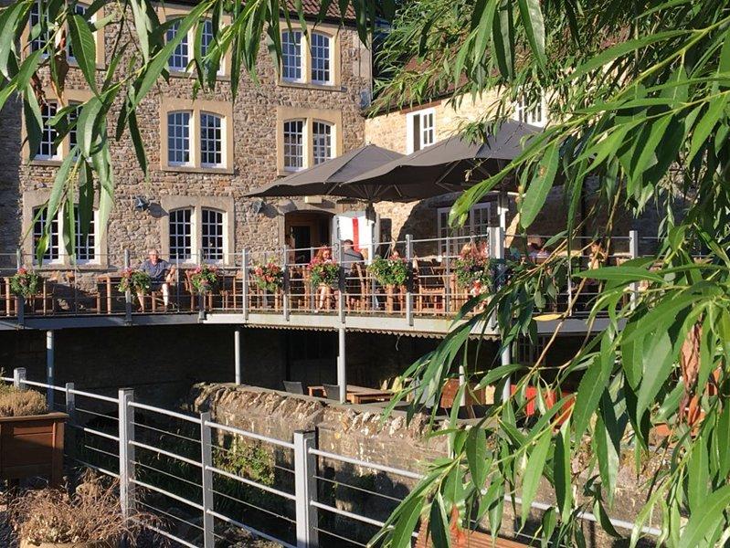 El restaurante y bar The Mill en Rode