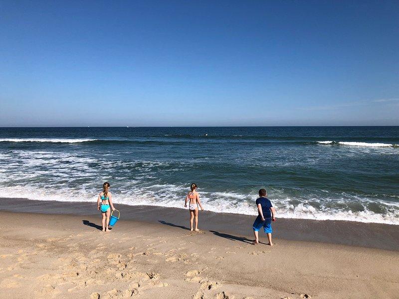 Enjoying the Jersey Shore