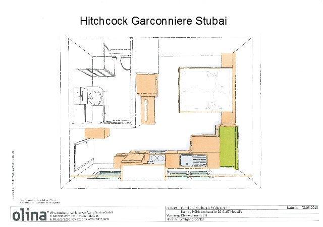 Hitchcock Studio, Ferienwohnung in Trins