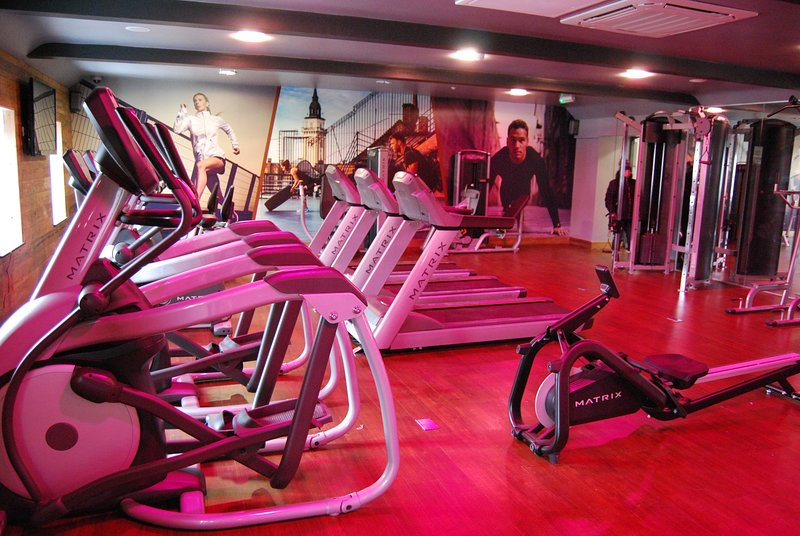 Fitness Suite which is free to use during your stay