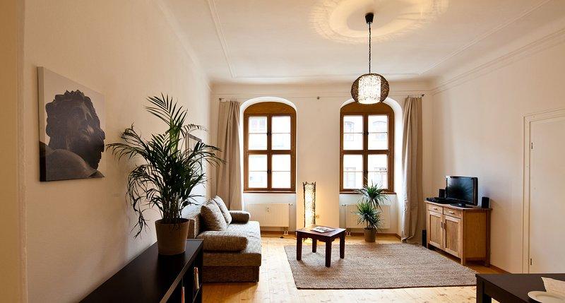 FRIEDRICH - zentrale ruhige Lage, familienfreundlich, alquiler de vacaciones en Dresden