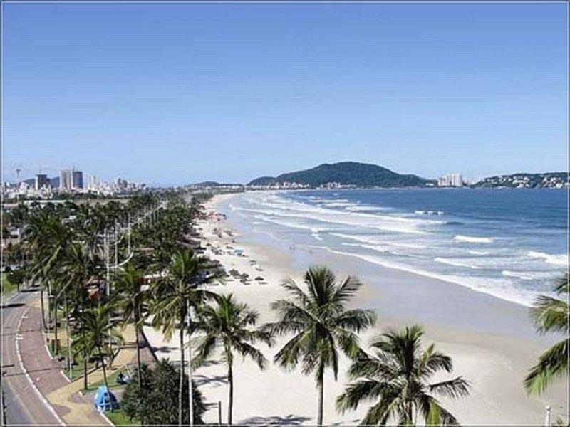 Cobertura Duplex com vista p Mar a 250 metros do mar, location de vacances à Guaruja