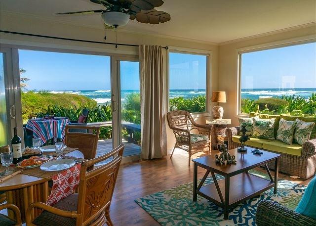 Hanalei Colony Resort I1 Living room