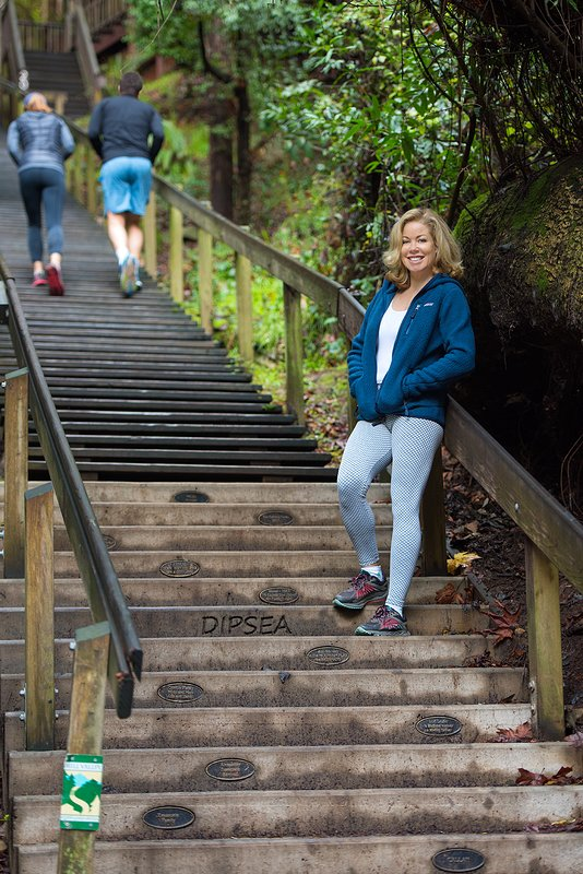 Walk to the Dipsea Stairs!