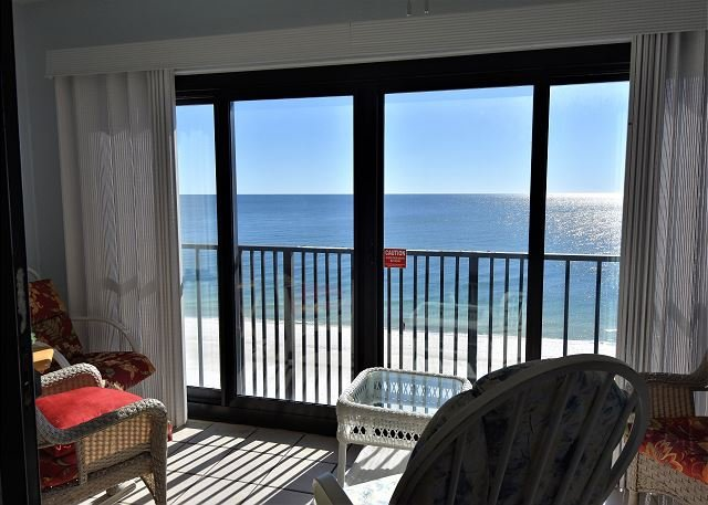 Gulf Tower 7C ~ Beach Front View from Master ~Bender Vacation Rentals, location de vacances à Gulf Shores