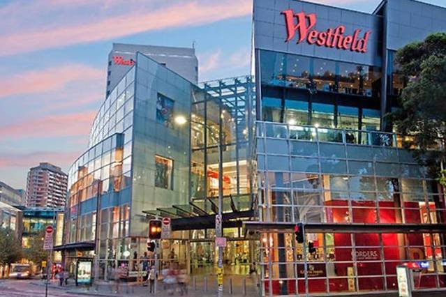 Westfield Shopping Center located just at Bondi Junction